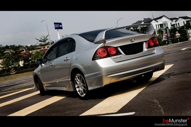 Honda Civic Mugen.