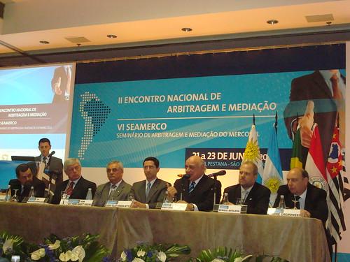Encontro de Mediação e Arbitragem em São Paulo 21 a 23 de junho de 2009