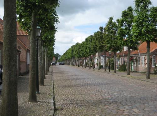 Main street in Møgeltønder