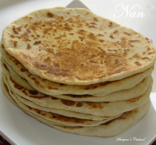 Tawa Nan ~ Indian Leavened Bread