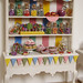 Miniature Food - Dollhouse Candy Cabinet #1