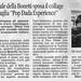 """articolo da """"La Città"""" di Salerno"""