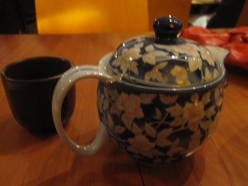 Milk tea at The Slanted Door