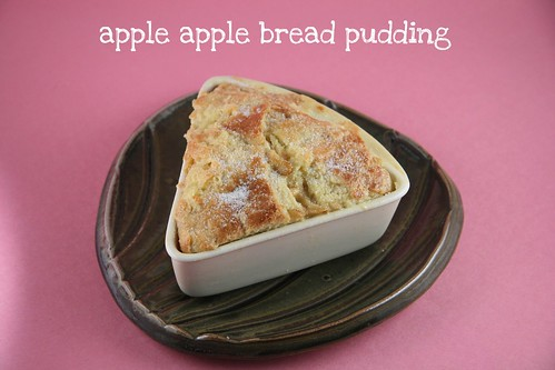 Apple-Apple Bread Pudding - Tuesday with Dorie