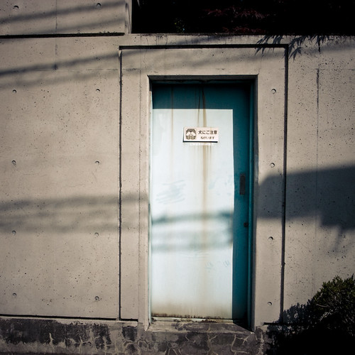 Door in a Minor Blue
