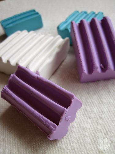 polymer clay bricks
