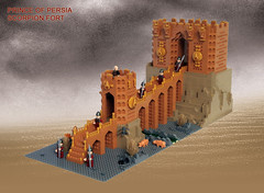 LEGO Prince of Persia MOC Scorpion Fort - Alternative overview (dita_svelte) Tags: lego fort prince persia scorpion moc
