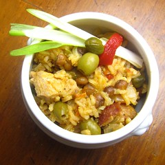 Arroz con Gandules (Rice w/ Pigeon Peas)