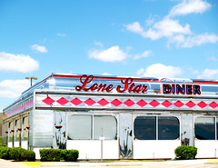 Let's Go To The Diner (Sarah M. Bunny) Tags: star photo texas diner roadtrip lone irving journalism