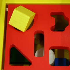 146/365 square peg into a round hole By rosipaw on flickr
