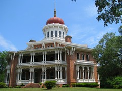 Longwood at Natchez (bluerim) Tags: house mississippi historic civilwar unfinished antebellum longwood octagonal warbetweenthestates nationalregisterofhistoricplaces natchezms orientalvilla samuelsloan hallernutt julianutt