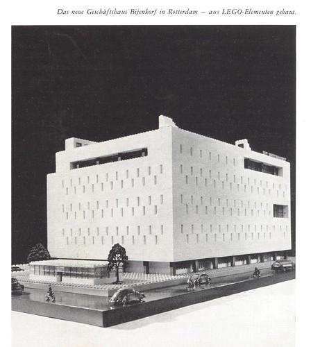 New Bijenkorf Store Rotterdam 1958