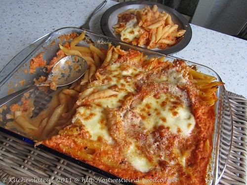 Tomaten & Mascarpone-Nudelauflauf 002