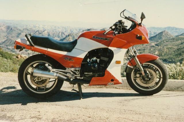 My 84 Ninja 900r