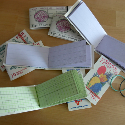 stamp book notebooks 2