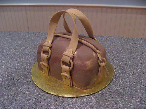 And The Bag to Match  Coach Purse Cake