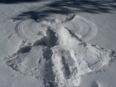 His Snow Angel