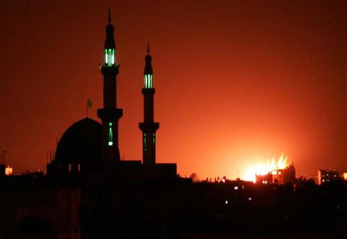 Masjid Gaza diserang by Masjid Nusantara.
