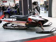 2009 Polaris 800 Dragon (blondygirl) Tags: sled 2009 snowmobile polaris polarisdragon edmontonmotorcycleshow polarisdragonsp dragonsp polarisdragonsp800 1000ormoreviews