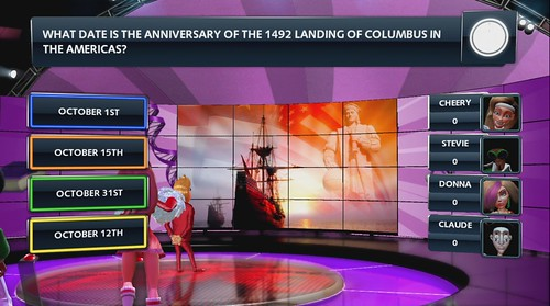 BUZZ! Quiz TV American Culture screenshot