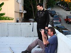 Carina Lirola vs Neil Zlozower Photoshoot (Lirola) Tags: rock metal la photo shoot steve goth carina guitars neil pop vai hollywood eddie unk korn vanhalen namm stevevai lirola carinalirola zlozower