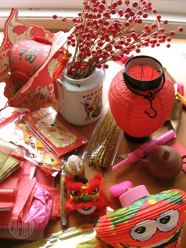 """Chinese New Year  """"inspiration"""" clutter"""