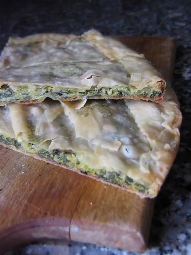 Scarpazza, torta tipica della Lunigiana