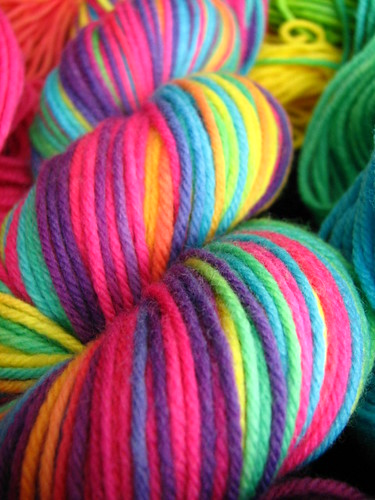 Tropical Rainbow - Siberian SW Worsted