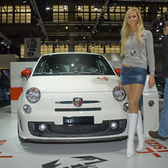 FIAT 500 Abarth girl - by stef_dit_patoc