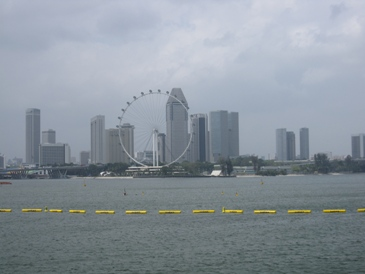 Skyline from Marina Barrage Pavilion
