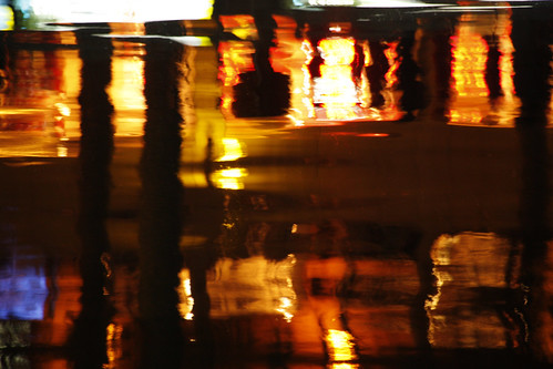 abstract photograph reflections