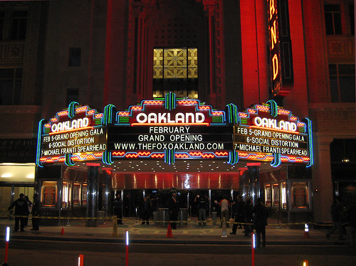 Fox Theater On Gala Opening Night
