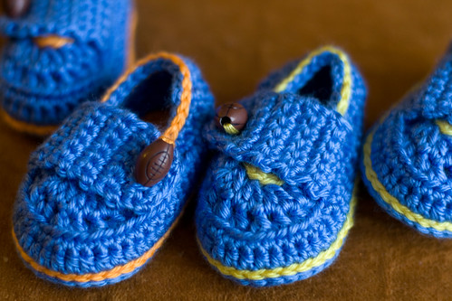 football baby shoes