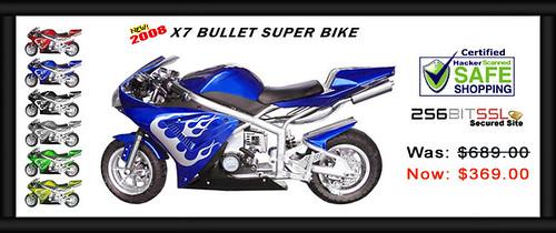 X7 Bullet Super Bike