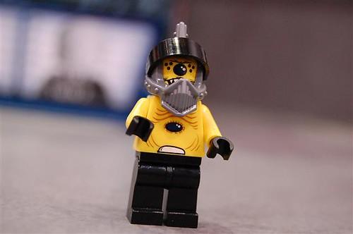Lego multieye Alien minifig