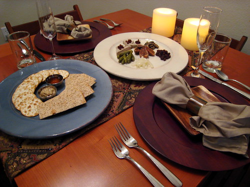 Valentine's Pate and Crackers