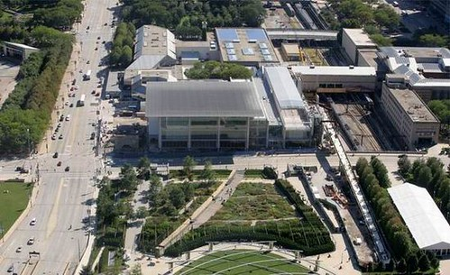 The Modern Wing of Chicago Art Institute by Renzo Piano