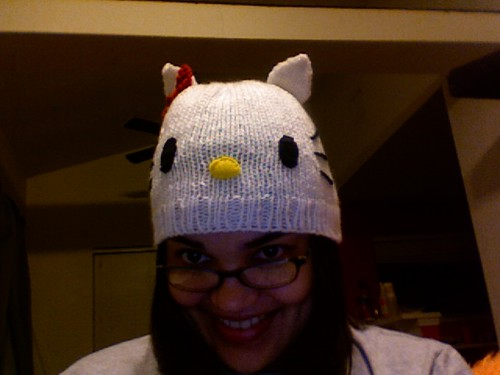Hello Kitty Beanie for Flavia