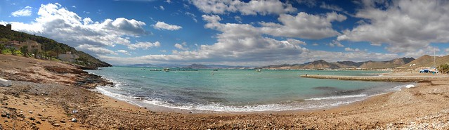 Bahía de la Azohia, 180º