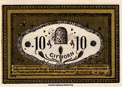 Gifhorn, 10 pf, 1919 (Iliazd) Tags: germany inflation notgeld papermoney germancurrency 19181922 emergencymoney germanpapermoney