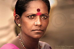 Lady @ Russel Market (Light and Life -Murali ) Tags: portrait lady women market russel bangalore bws bws08mar2009russelmarket