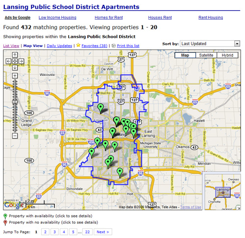 Rental Property Search Engine: One And Done: RentLinx Supports School District