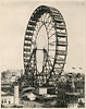 Ferris Wheel (The Field Museum Library) Tags: chicago sepia illinois fair exposition worlds whitecity ferriswheel midway 1893 1890s columbian chicagoworldsfair worldscolumbianexposition williamhenryjackson commons:event=commonground2009