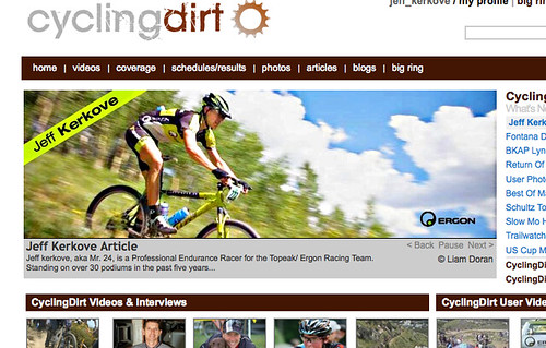 Cycling Dirt interview