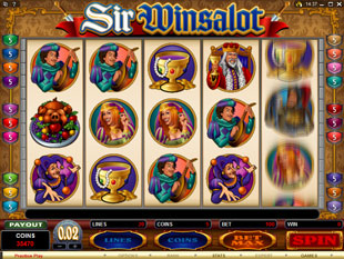 Sir Winsalot slot game online review
