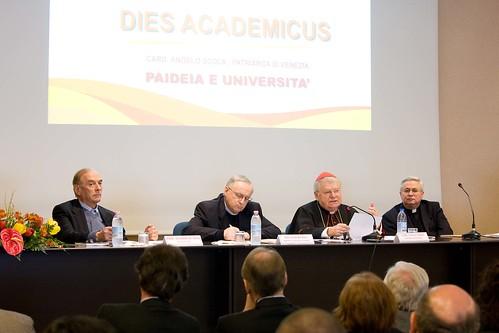 angelo scola dies academicus salesiani