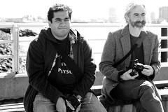 Irishmen (Bradford Moore (p0larbare)) Tags: boston 35mm canon blackwhite sigma photowalk eastie maverick eastboston bostonharbor bostonphotomob harborwalk bpm040509