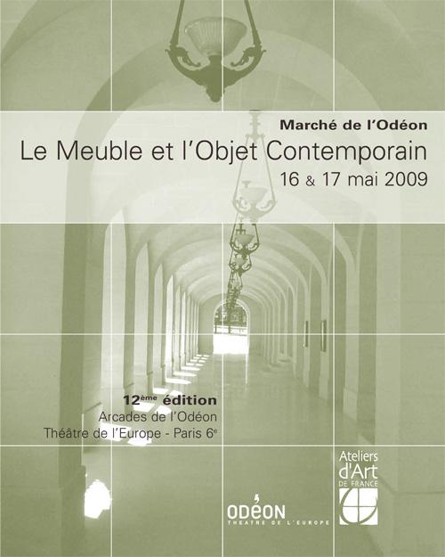 Marché de l'Odéon, mai 2009