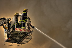 Cape Town Fire & Rescue (Marc Fletcher Photography) Tags: rescue water southafrica fire cherrypicker action capetown fireman emergency hdr bravery firerescue fireservice emergencyservice canonefs55250mm