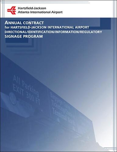 Airport Signage Program